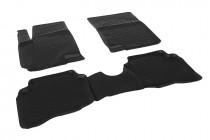 Глубокие коврики в салон Hyundai i20 2008-2014 полиуретановые L.Locker