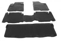Глубокие коврики в салон Hyundai ix55 2008- полиуретановые L.Locker