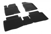 L.Locker Глубокие коврики в салон Hyundai Sonata 2010-2014 полиуретановые