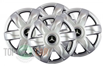 SKS с логотипом Колпаки R15 (модель 318) Mercedes
