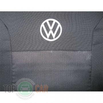 Prestige Авточехлы VW Polo sedan 2010-  цельная спинка