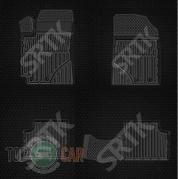 SRTK (—аранск) √лубокие резиновые коврики Geely Emgrand EC7