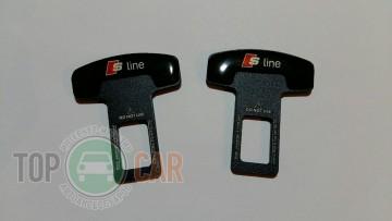 Заглушки ремней безопасности универсальные S line