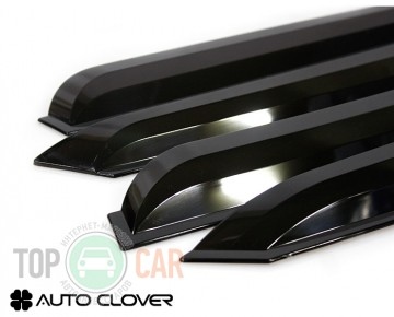 Дефлекторы окон Chevrolet Aveo sedan 2006-2012/ZAZ Vida