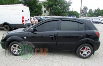 Auto Clover Дефлекторы окон Kia Rio 2005-2011 hatchback