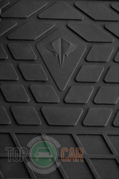 Stingray Коврики резиновые Mercedes Sprinter II 06-/VW Crafter 06- (1+1)