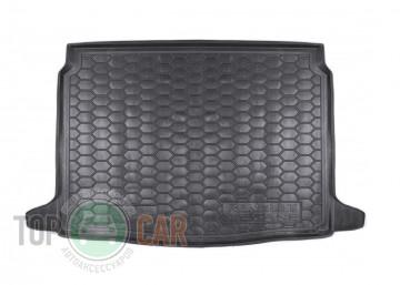 Полиуретановый коврик багажника Renault Megane IV 2015- hatchbac