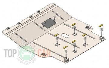 Защита двигателя Chrysler Grand Voyager RG