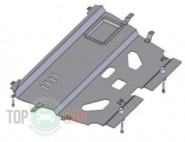 Защита двигателя Citroen С4 2010-