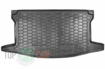 Полиуретановый коврик в багажник Toyota Yaris 2014-