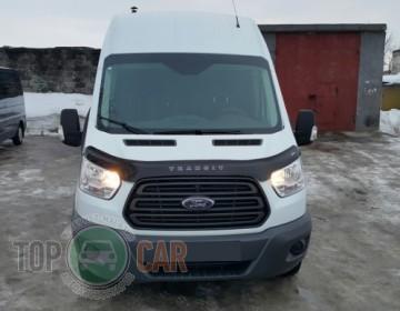 Дефлектор капота Ford Transit  2014- (Вариант А)