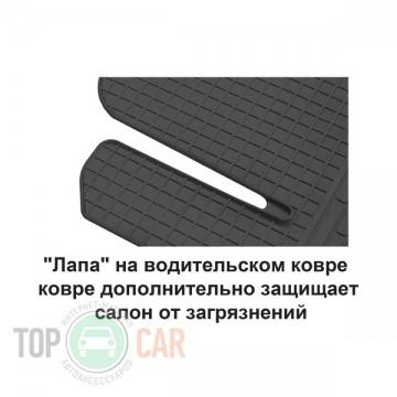 Stingray Коврики резиновые Kia Cerato 04-09 передние