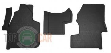 Коврики резиновые Mercedes Sprinter II 06-/VW Crafter 06- (1+2)
