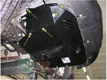 Защита двигателя Fiat Doblo I поколение 2001-