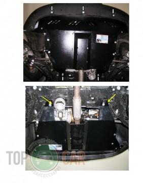 Кольчуга Защита двигателя Fiat Doblo I поколение 2001-, V 1.9 D