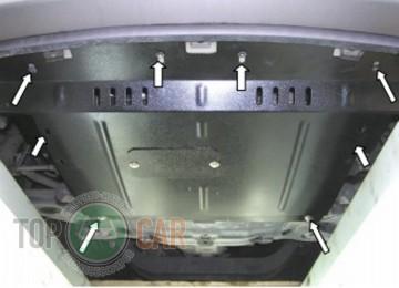 Кольчуга Защита двигателя Hyundai H-1 2008-