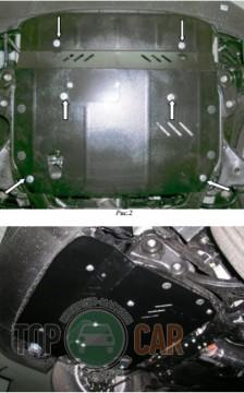 Кольчуга Защита двигателя Kia Magentis II 2005-2011