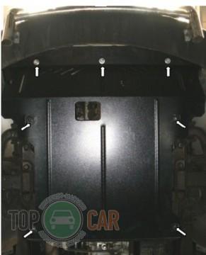 Кольчуга Защита двигателя Mercedes-Benz Sprinter 2006-2013, 2WD