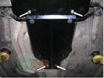Кольчуга Защита КПП Mercedes-Benz W210 1995-2001