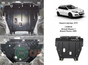 Кольчуга Защита двигателя Renault Megane III 2008-