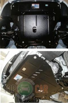 Кольчуга Защита двигателя ZAZ Vida 2012-