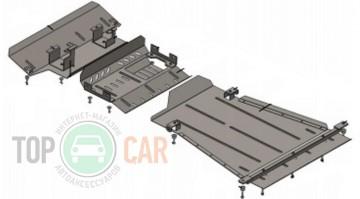 Защита двигателя Suzuki Jimny JB 2012-