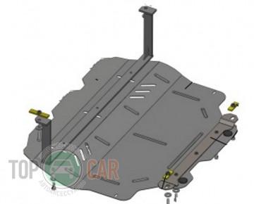 Защита двигателя Volkswagen Caddy WeBasto 2004-2011