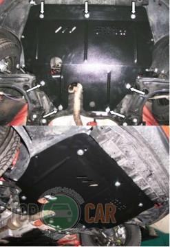 Кольчуга Защита двигателя Volkswagen Polo 2009-, V 1.4/1.6