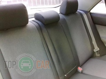 EMC ќригинальные чехлы Opel Astra H UN задн¤¤ спинка цельна¤
