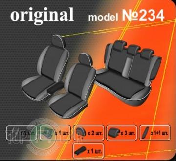 Оригинальные чехлы VW Passat B5+ SD 2000-2005 Maxi