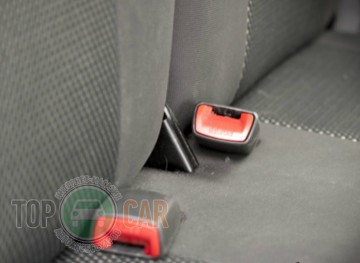 EMC Оригинальные чехлы VW Polo Sedan 2010- деленная спинка