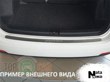 Накладка на задний бампер Fiat Linea 2012-