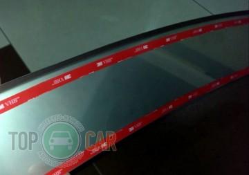 NataNiko Накладка на задний бампер Fiat Linea 2012-