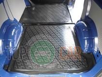 Коврик в багажник Volkswagen Transporter T5 2002- задняя часть