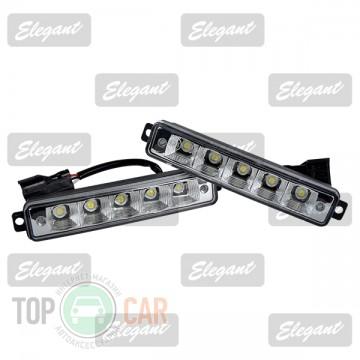Elegant Дневные ходовые огни Maxi 1W*5LED, 167*30*40мм с автопереключателем света
