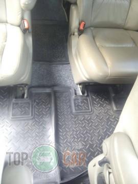 Nor-Plast Коврики резиновые Chrysler Voyager/Dodge Caravan 7 мест 2000-2007