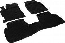 Глубокие коврики в салон Mazda 6 2007-2012 полиуретановые L.Locker