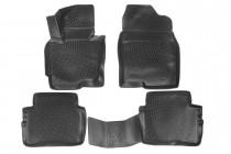Глубокие коврики в салон Mazda CX-5 полиуретановые L.Locker