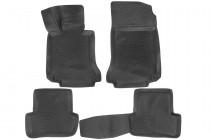 L.Locker Глубокие коврики в салон Mercedes-Benz C-klass (W204) полиуретановые