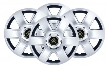 Колпаки R15 (модель 337) Citroen  SKS с логотипом