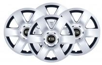 Колпаки R15 (модель 337) KIA SKS с логотипом