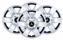 Колпаки R15 (модель 337) Mercedes SKS с логотипом