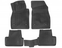 Глубокие коврики в салон Opel Astra J HB 2009-2012 полиуретановые L.Locker