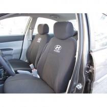 Авточехлы Hyundai Accent 2010- (цельная спинка) Prestige