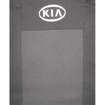 Авточехлы Kia Rio 2011-2015 цельная спинка Prestige
