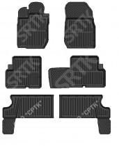 Глубокие резиновые коврики Lada Largus  7 мест SRTK (Саранск)