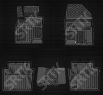 SRTK (Саранск) Глубокие резиновые коврики Mazda 6 2012-