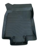Глубокие резиновые коврики 3D Nissan X-Trail T32 2014- SRTK (Саранск)