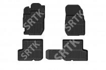 SRTK (Саранск) Глубокие резиновые коврики Nissan Terrano 2014-