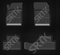 Глубокие резиновые коврики Chevrolet Cruze SRTK (Саранск)